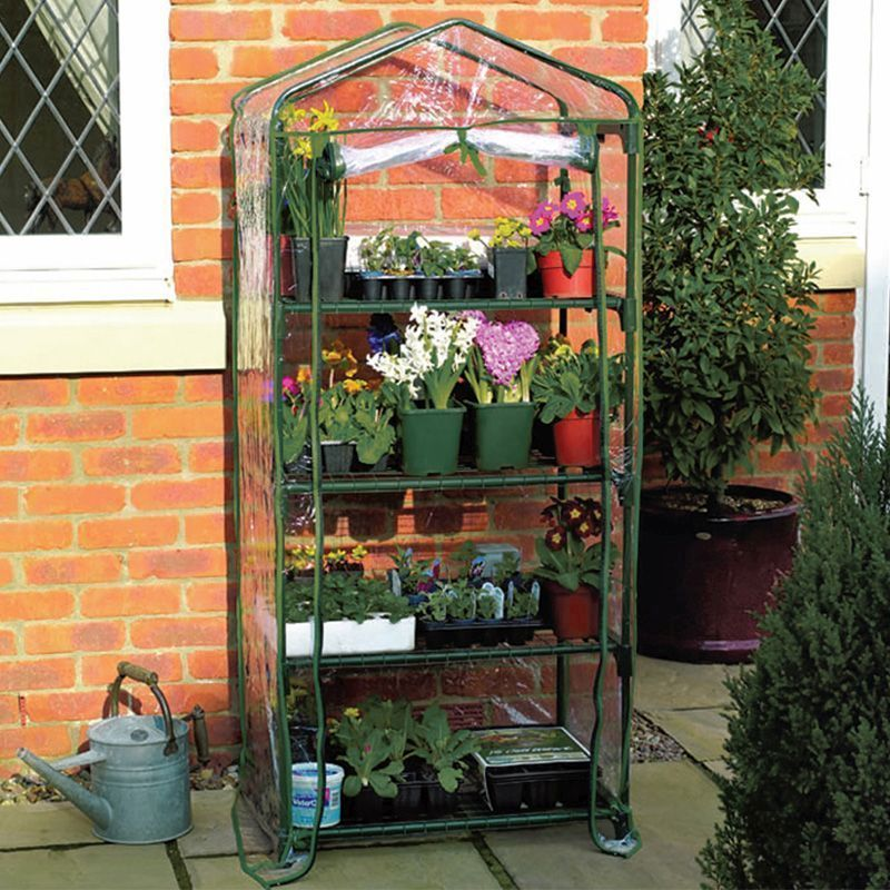 Growing Patch 4 Tier Garden Greenhouse