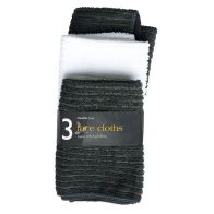 See more information about the 3 Pack Micro Soft Face Cloths - Grey