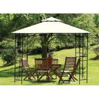 See more information about the Garden Gazebo Merion Natural 3 metre x 3 metre