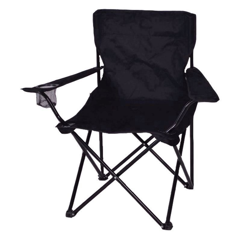 Adult Camping Chair Black