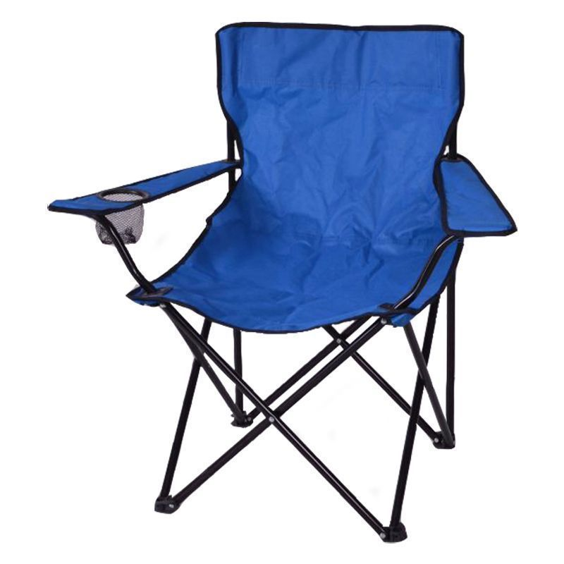 Adult Folding Camping Chair Blue