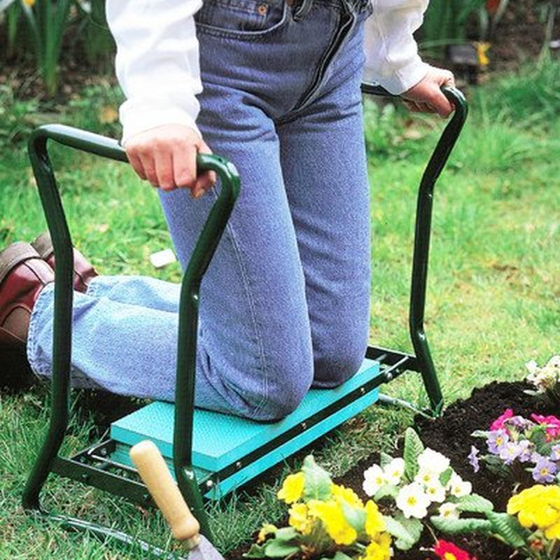 Metal Gardening Outdoor Kneeler Seat