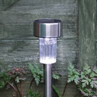 See more information about the Bright Garden Stainless Steel Solar Light