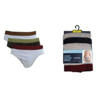 See more information about the 3 Pack Mens Striped Waistband Briefs