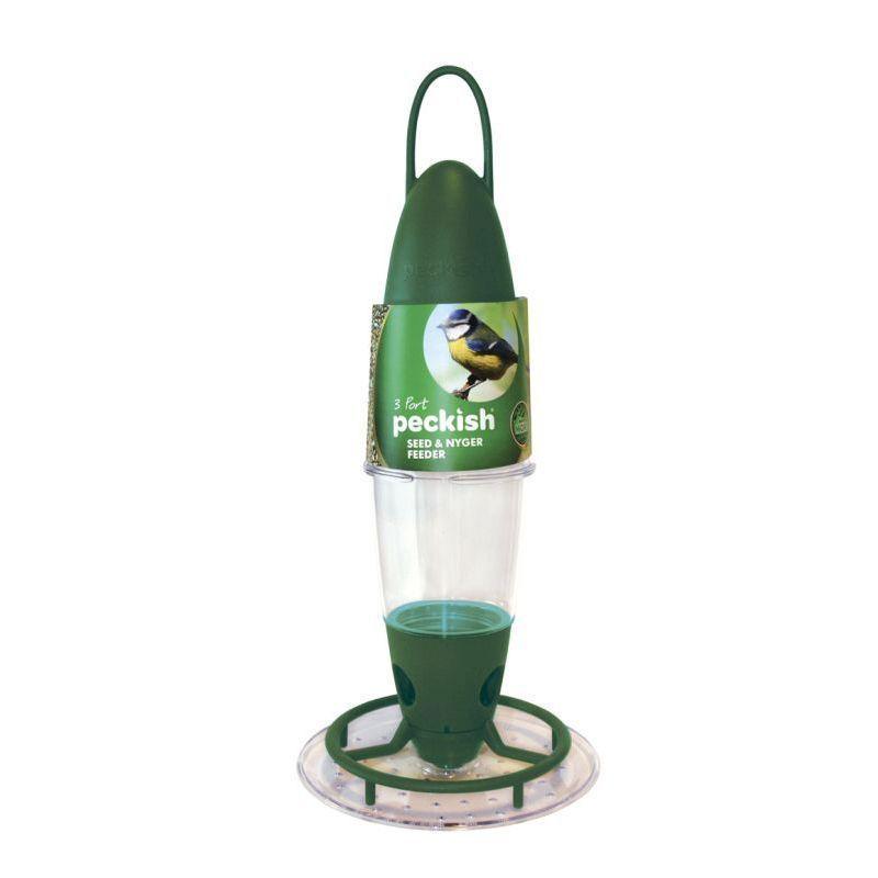 Peckish 3 Port Bird Seed Feeder Buy Online At Qd Stores