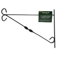 See more information about the Hanging Basket Wall Bracket 14 inch Black