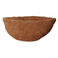 See more information about the 14 Inch Coco Mould Natural Fibre Hanging Basket Liner