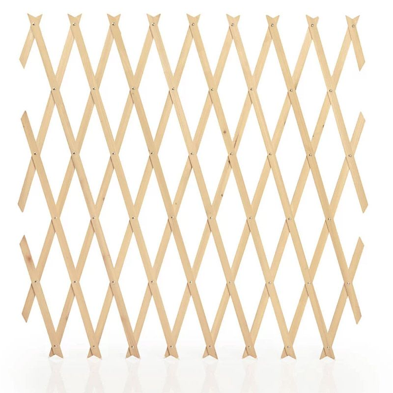 Value Garden Trellis Plant Support Natural Wood 6 x 4 Foot