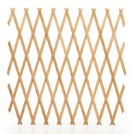 See more information about the Tan Garden Trellis Plant Support Natural Wood 6 x 2 Foot