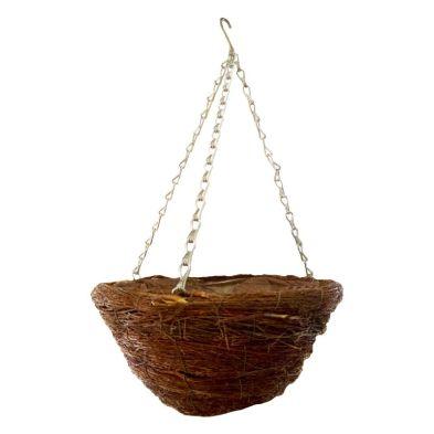 12 Inch African Hanging Basket - Twig Design