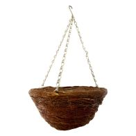 "See more information about the African Hanging Basket (12"") - Twig Design"
