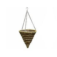 See more information about the Aztec Hanging Planter Garden Planter 12 Inch - Light String Design