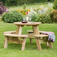 See more information about the Katie Garden Picnic Table
