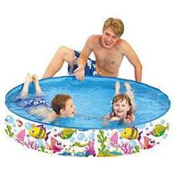 "See more information about the EA Paddling Pool Rigid Pool 59"" Diameter 10"" High"