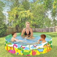 "See more information about the EA Paddling Pool Rigid Sides 71"" Diameter 15"" Height"