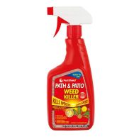See more information about the Pestshield Path & Patio Weed Killer 500ml Trigger Spray Bottle.
