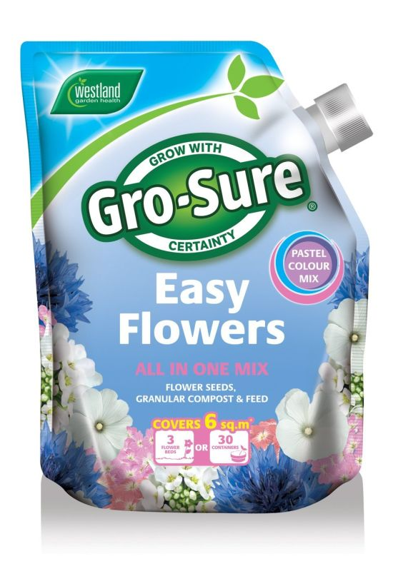 1.5kg Gro-Sure Easy Flowers Pastel
