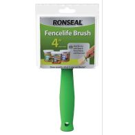 "See more information about the Ronseal Fencelife Brush (4"")"