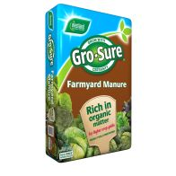 See more information about the Gro-Sure Farmyard Manure (50 Litre)
