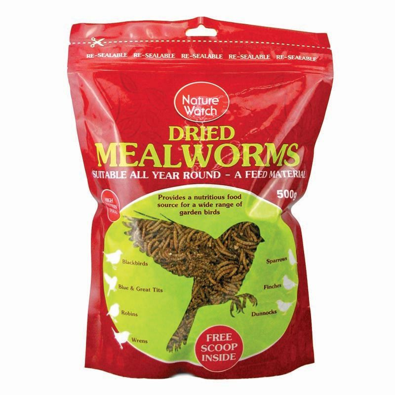 Meal Worms 500g Bag.