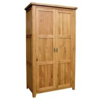 See more information about the Cotswold Oak Full Hanging Wardrobe