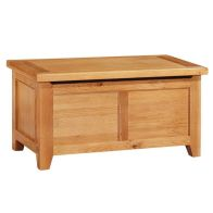 See more information about the Cotswold Oak Blanket Box Bedding Box