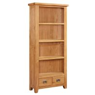 See more information about the Cotswold Oak Bookcase 1.8 Metres Tall