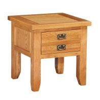 See more information about the Cotswold New lamp Table 2 Handles 1 Drawer