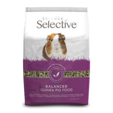 Pets Science Selective Balanced Guinea Pig Food 1.5kg