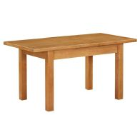 See more information about the Holkham Extending Dining Table Oak 4/6 Seater