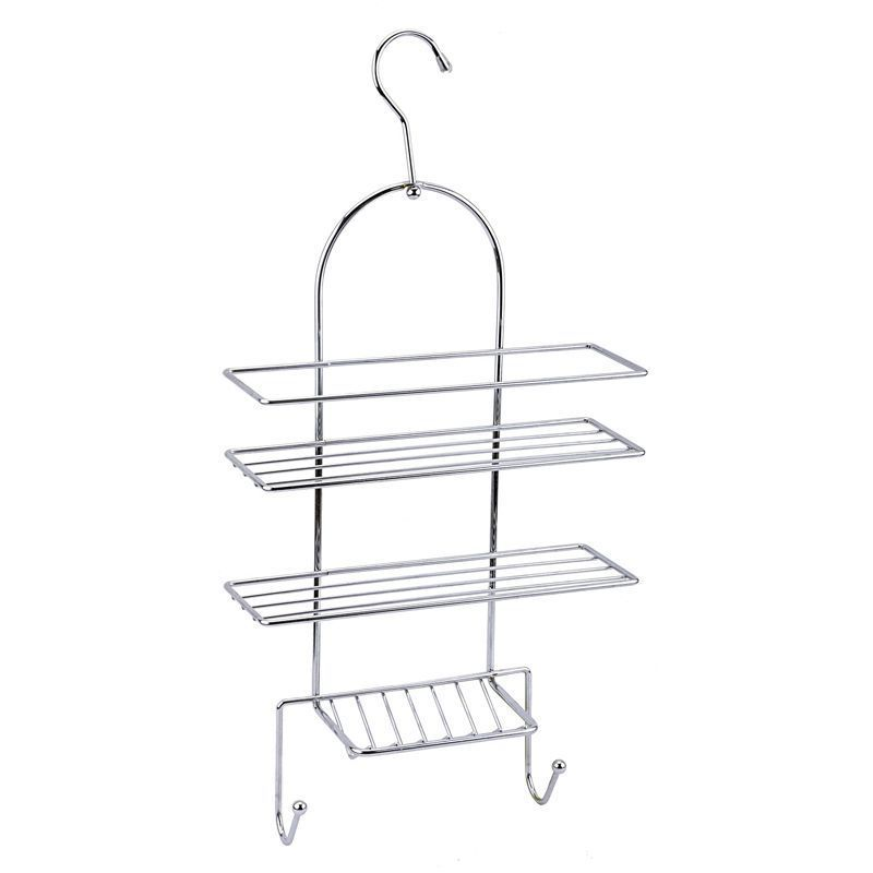 Chrome Bathroom Shower Caddy Hanging Shelf - Buy Online at QD Stores