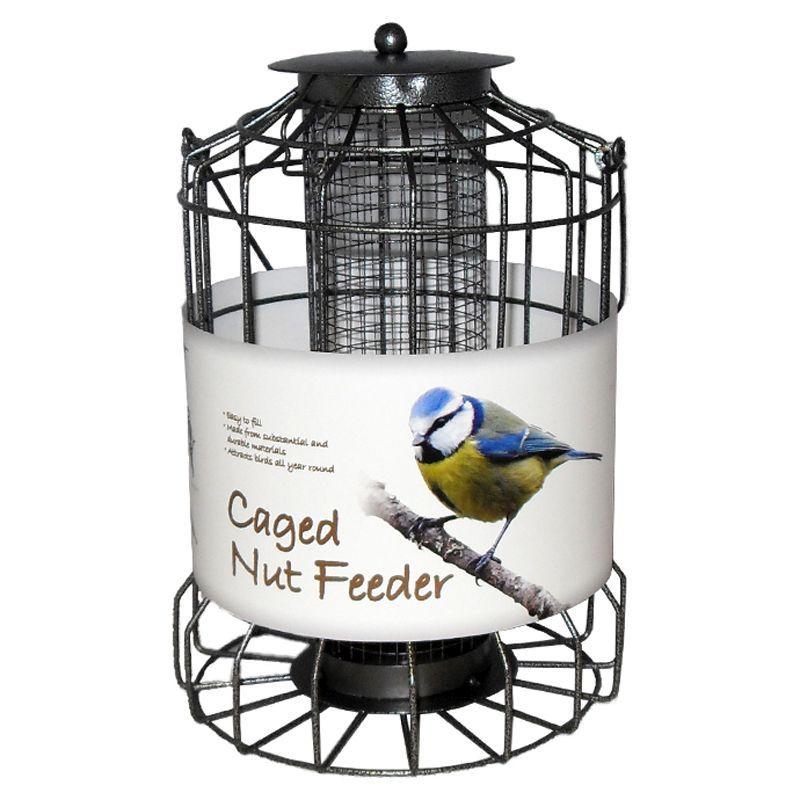 WILD BIRD NUT FEEDERS