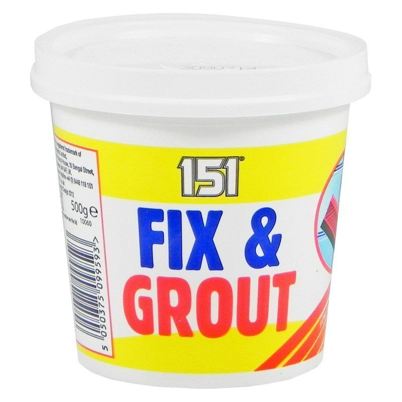 151 Fix & Grout 500g Tub