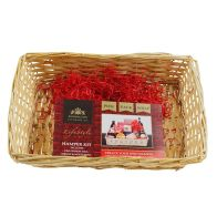 See more information about the Create Your Own Gift Hamper Kit Light Wicker - Large