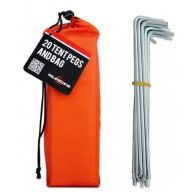 See more information about the Milestone 20 Tent Pegs In Carry Bag