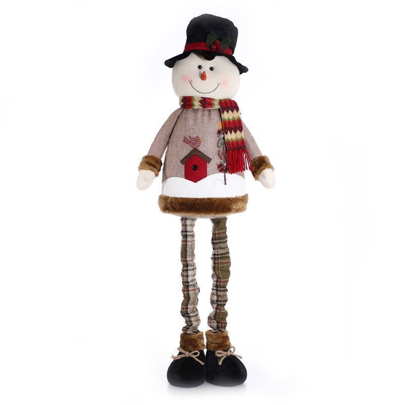 Extending Snowman Christmas Decoration