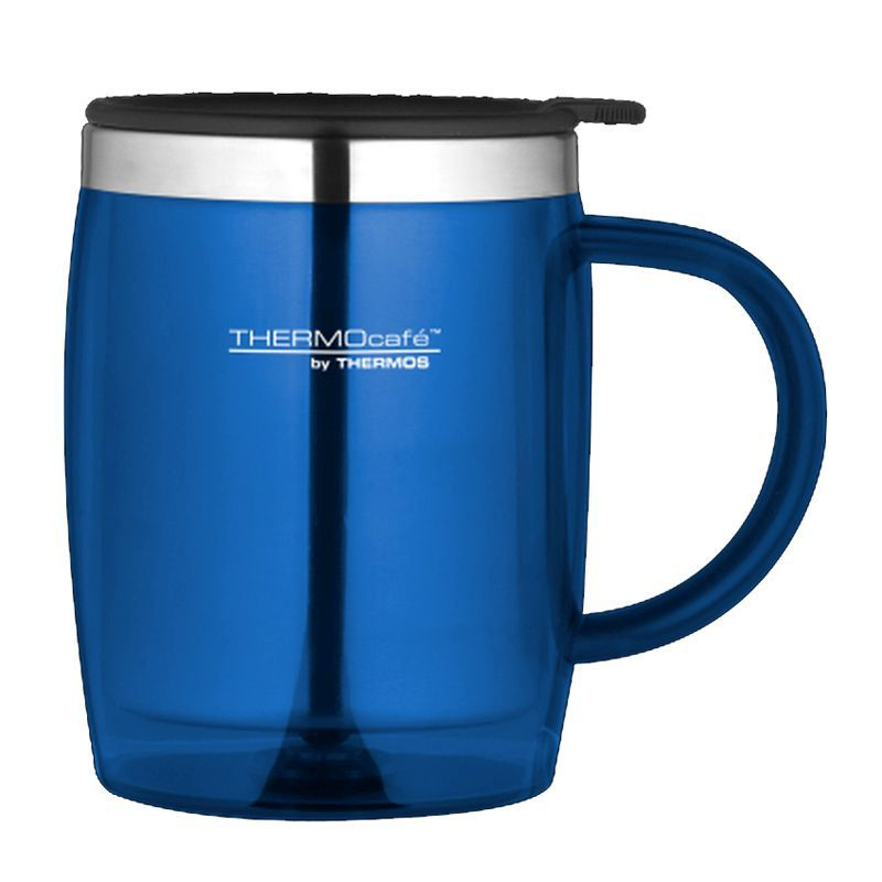 thermo cafe desk mug blue buy online at qd stores. Black Bedroom Furniture Sets. Home Design Ideas