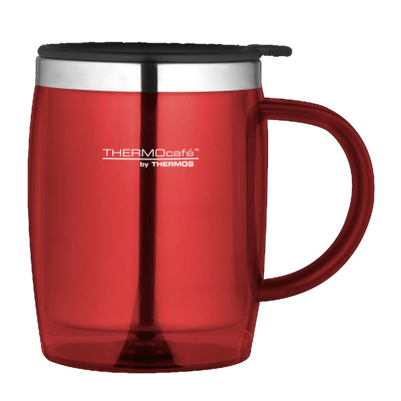 Thermo Cafe Desk Mug Red 0.45L
