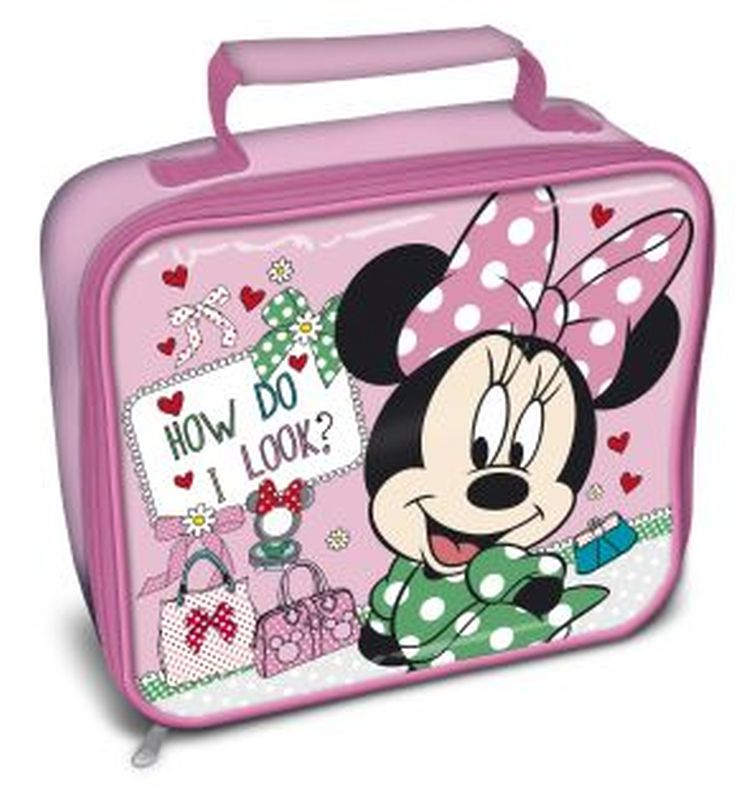 Minnie Mouse Rectangle Lunchbag