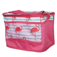 See more information about the Tropical Fresh Beach Picnic Cooler Bag 10 Litre - Flamingo Design