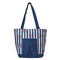See more information about the Riviera Beach Picnic Cooler Bag 15 Litre - Nautical Design
