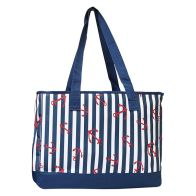 See more information about the Riviera Beach Picnic Cooler Beach Bag 20 Litre - Nautical Design