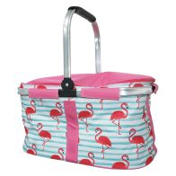 See more information about the Tropical Fresh Trug Cooler - Flamingo Design