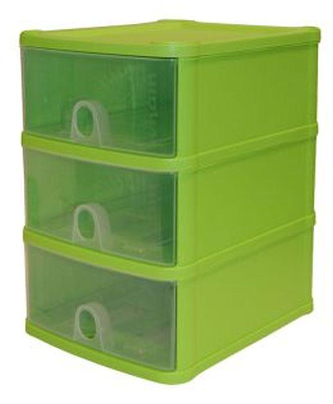 Handi 3 Drawer Plastic Storage Unit Lime Buy Online At