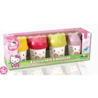 See more information about the Hello Kitty 4 Dough Pots Modelling Dough