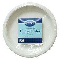 See more information about the Thermoform Dinner Plate 23cm 10pack - White