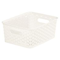 See more information about the 8L Curver My Style Rattan Basket - White