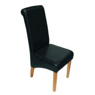 See more information about the London Dining Room Chair Black Furniture