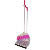 See more information about the Long Handle Dustpan Set Pink Hearts