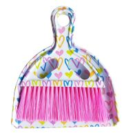 See more information about the Mini Dustpan Set Pink Hearts